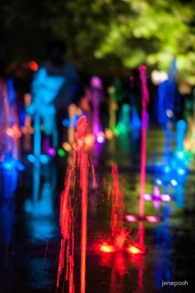 Colorful Waterworks by jenepooh