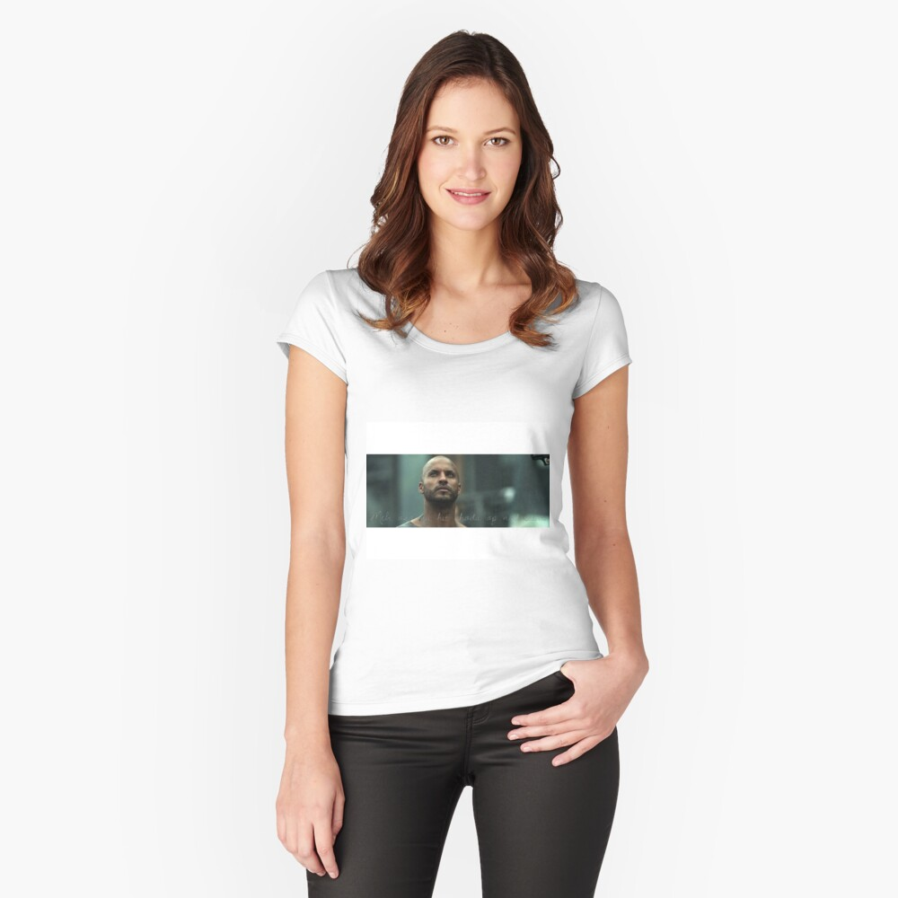 Lincoln may we meet again Women's Fitted Scoop T-Shirt Front