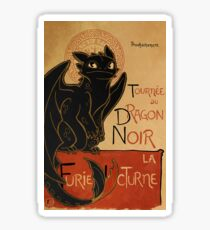 Le Dragon Noir Sticker