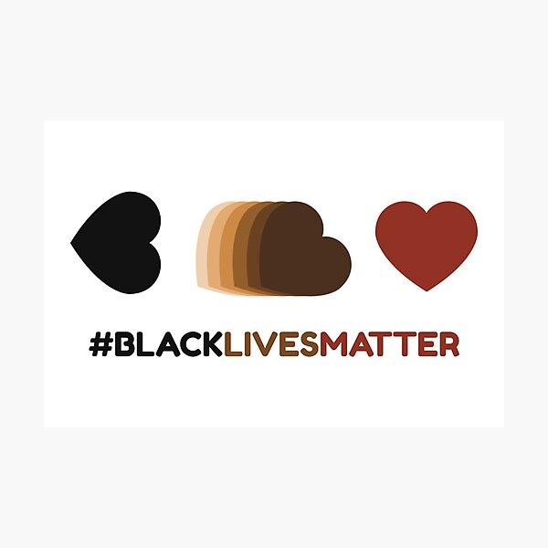 #BLACKLIVESMATTER Photographic Print