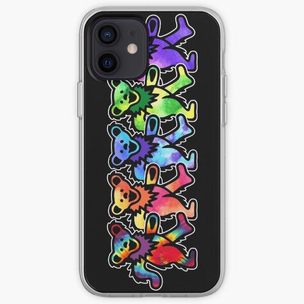 Classic Dancing Grateful Rock Bears iPhone Soft Case