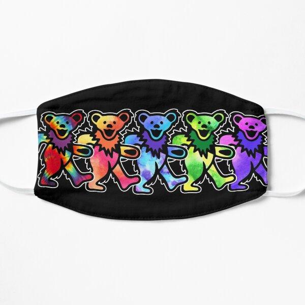 Classic Dancing Grateful Rock Bears Flat Mask