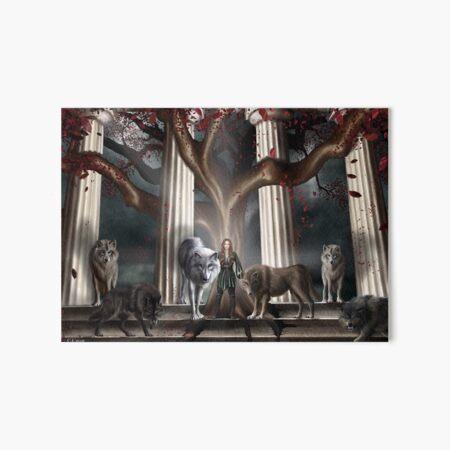 Wolf Goddess Art Board Print