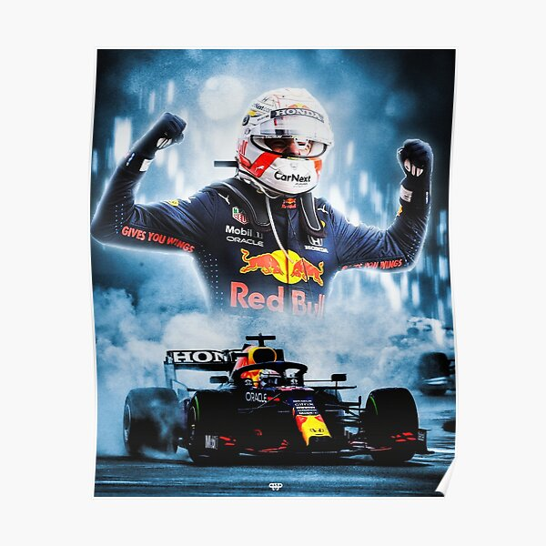 MAX VERSTAPPEN IMOLA GP 2021 Poster