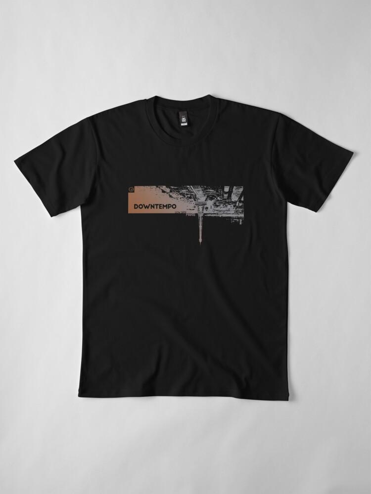 Alternate view of Downtempo   Low BPM   Paris   Cold Dawn Premium T-Shirt