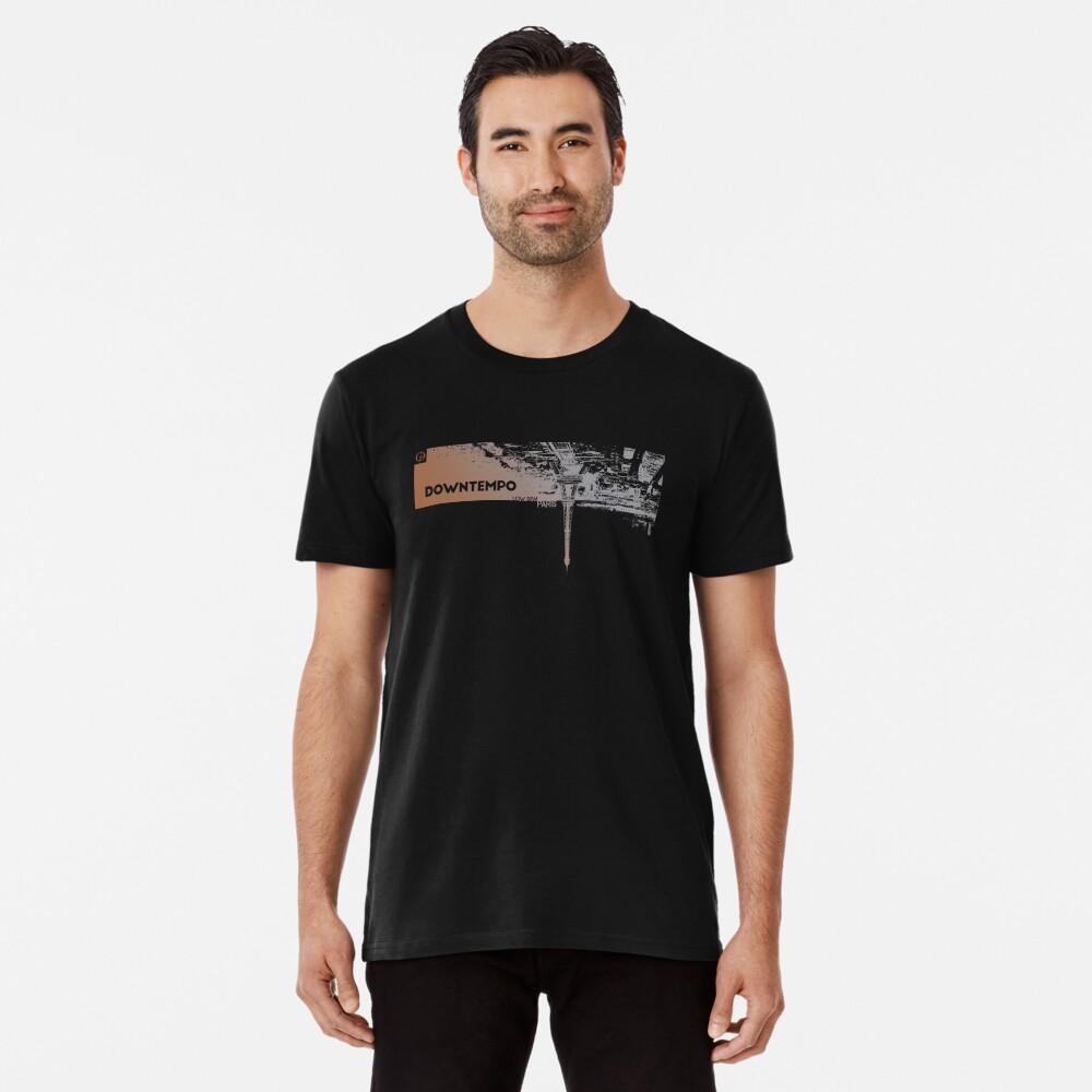 Downtempo   Low BPM   Paris   Cold Dawn Premium T-Shirt
