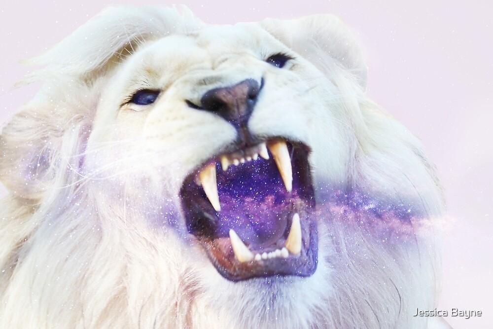 LION+GALAXY by woodsidedesign