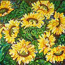 """Bountiful Sunflowers"" by Deborah Glasgow"