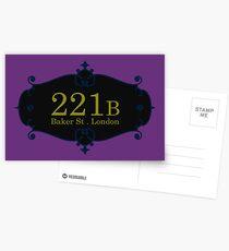 221B Baker St Postcards