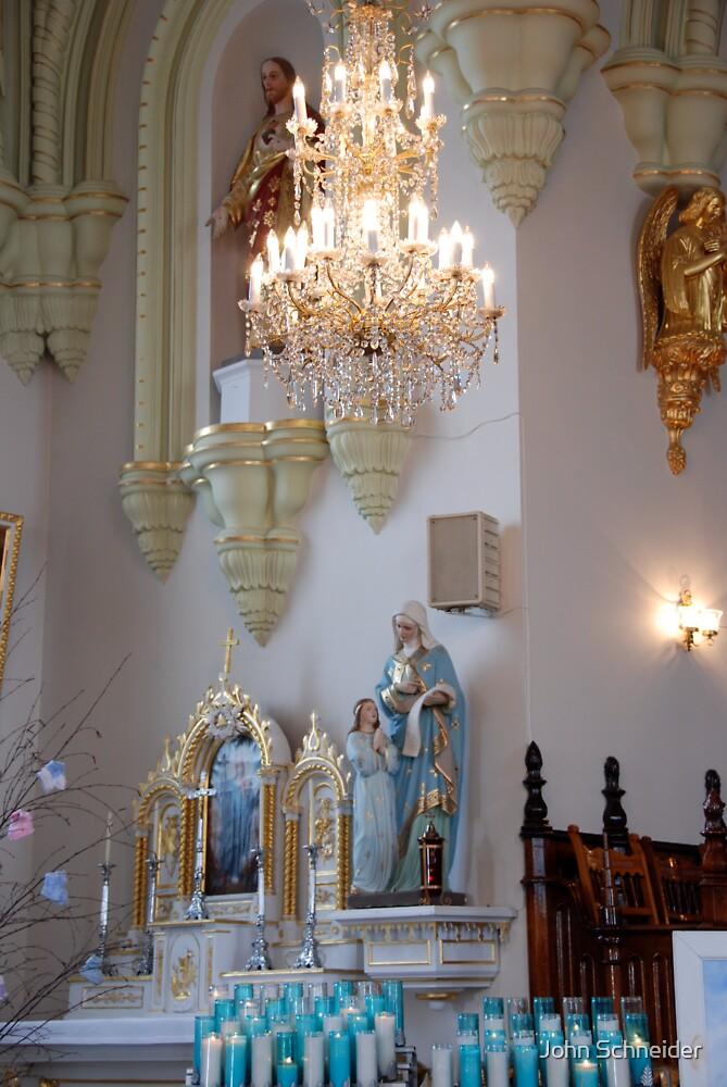 Altar Ste. Laurent Church by John Schneider