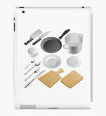 Kitchen tools iPad Case/Skin