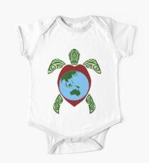 Turtle World One Piece - Short Sleeve