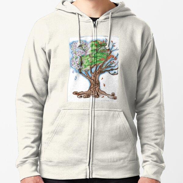 Magnolia's Seasons Zipped Hoodie
