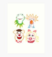 Muppets Art Print