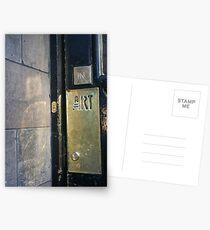 Glasgow School of Art Entrance Postcards