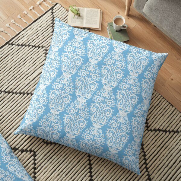 Handmade Crochet Style Floor Pillow