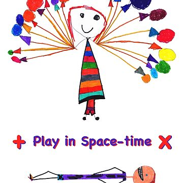 Play in Space-time by visualphysics