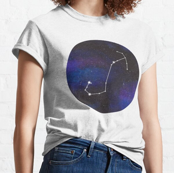 Scorpio - galaxy star constellation Classic T-Shirt