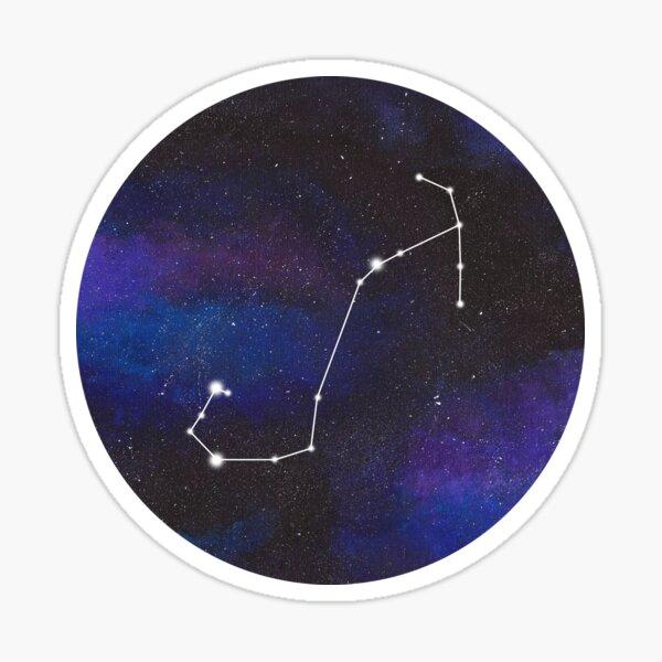Scorpio - galaxy star constellation Sticker