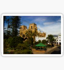 Cuenca Is A World Heritage Site Sticker