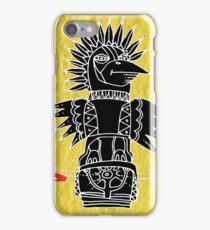 crow totem iPhone Case/Skin