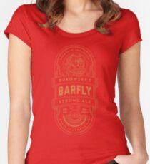 Charles Bukowski Brew Women's Fitted Scoop T-Shirt
