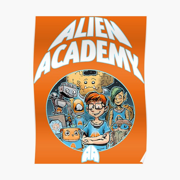 Alien Academy Cover 1 Poster