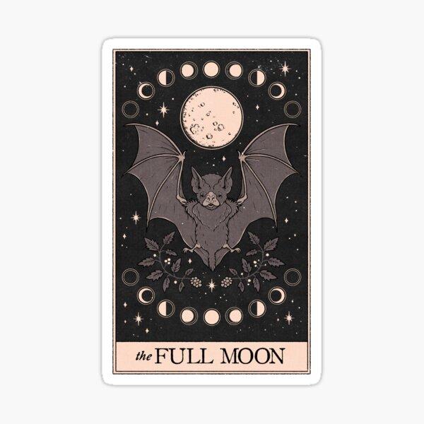 The Full Moon Sticker