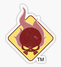 Fire Hazard Entertainment Logo Sticker