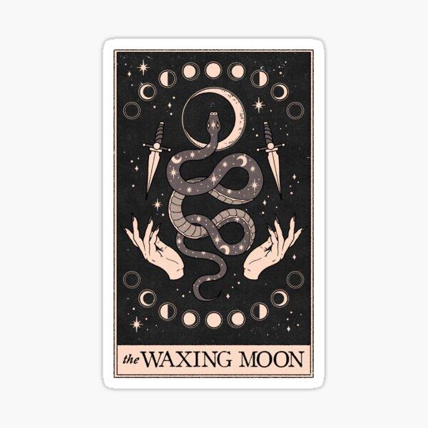 The Waxing Moon Sticker