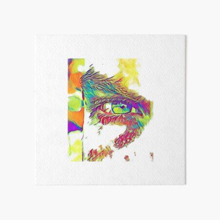 An Eye on Digital Art Art Board Print