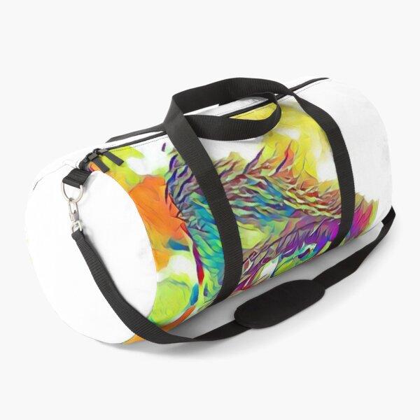 An Eye on Digital Art Duffle Bag