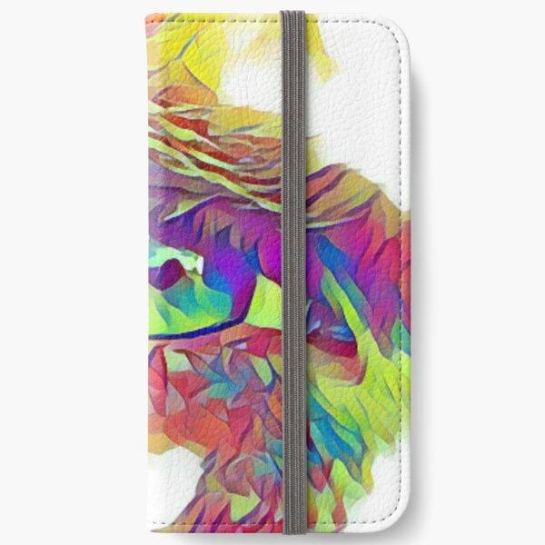 An Eye on Digital Art iPhone Wallet