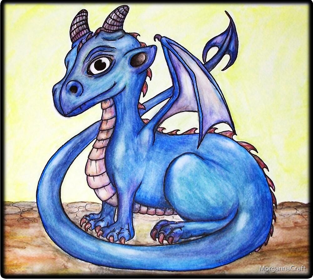 Little Blue by MorgannaCraft