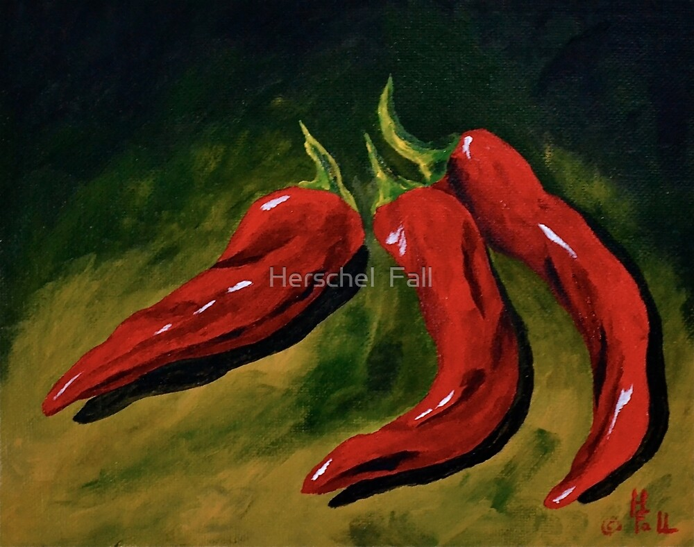 Sweet Chilli Peppers by Herschel  Fall