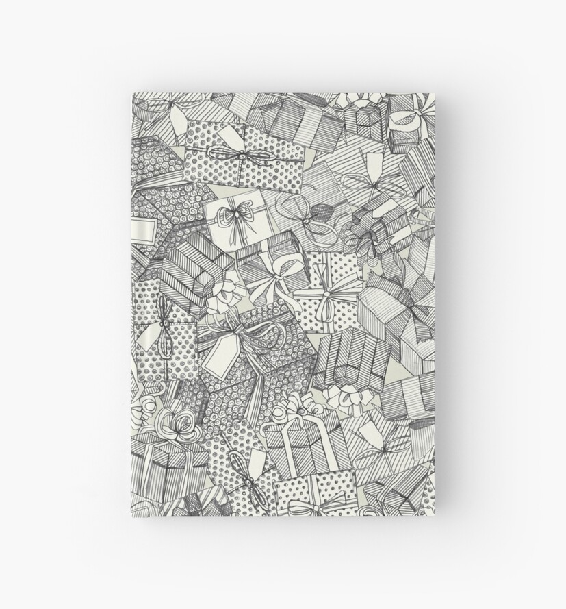 pencil parcels ivory by Sharon Turner
