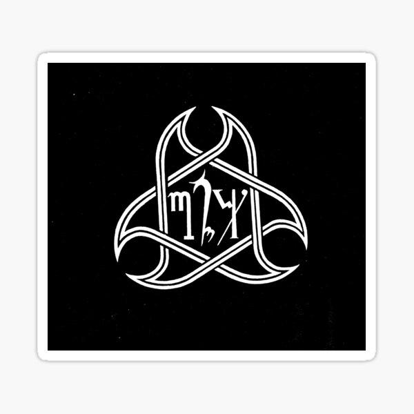 Requiem in White Logo 1980's/1990's Sticker