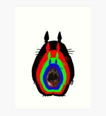 Mindfuck Totoro Art Print