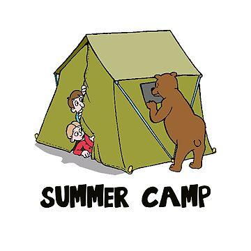 Summer Camp #10 by dianeblocker
