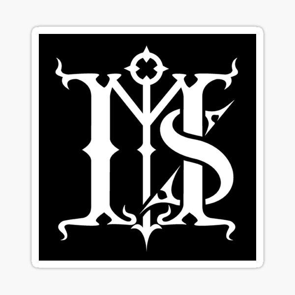Mors Syphilitica Logo (1990's) Sticker