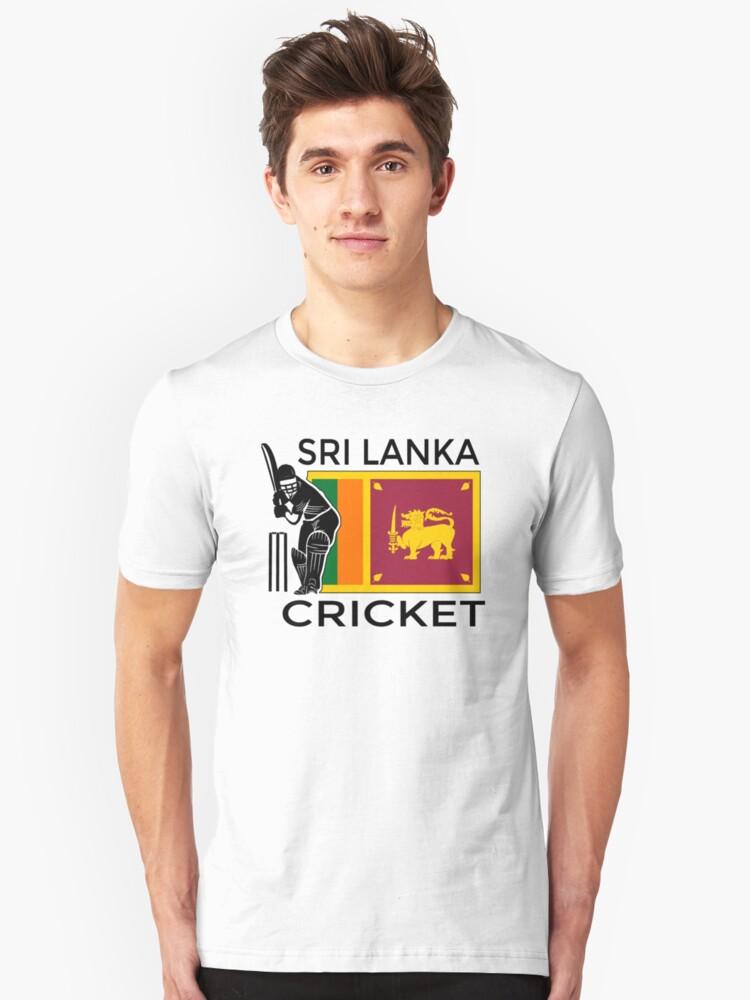 Sri Lanka Cricket Unisex T-Shirt Front