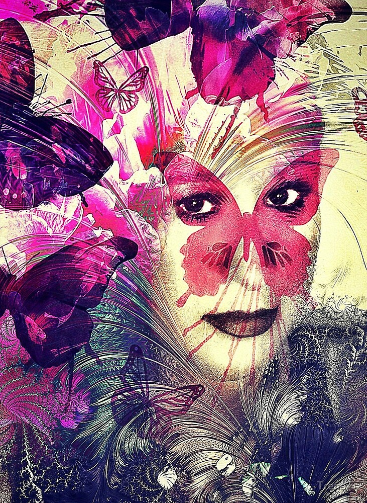 Madame Butterfly (A Collab with the Lovely Stephanie) by Trena S