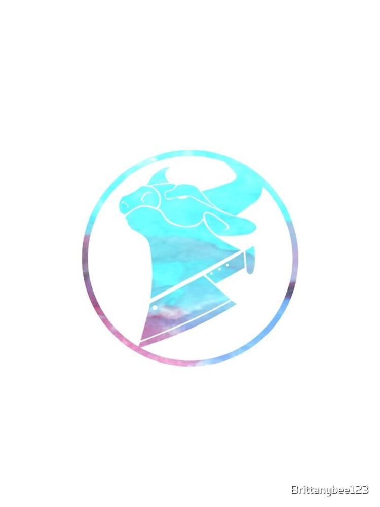 Kuh-Hacken-Wasserfarblogo von Brittanybee123