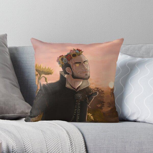 Flower crown Lambert (game version) Throw Pillow