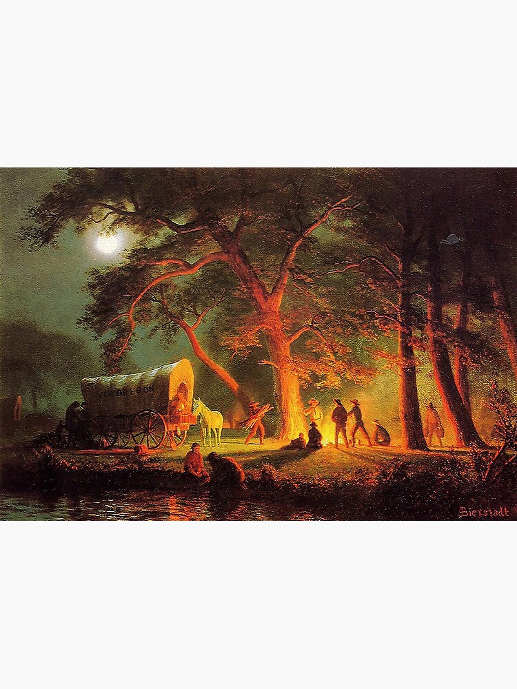 The Oregon Trail, by Albert Bierstadt by edsimoneit
