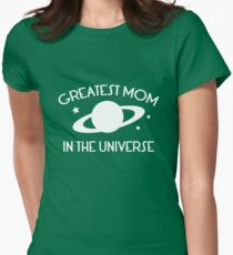 Greatest Mom In The Universe Womens Fitted T-Shirt