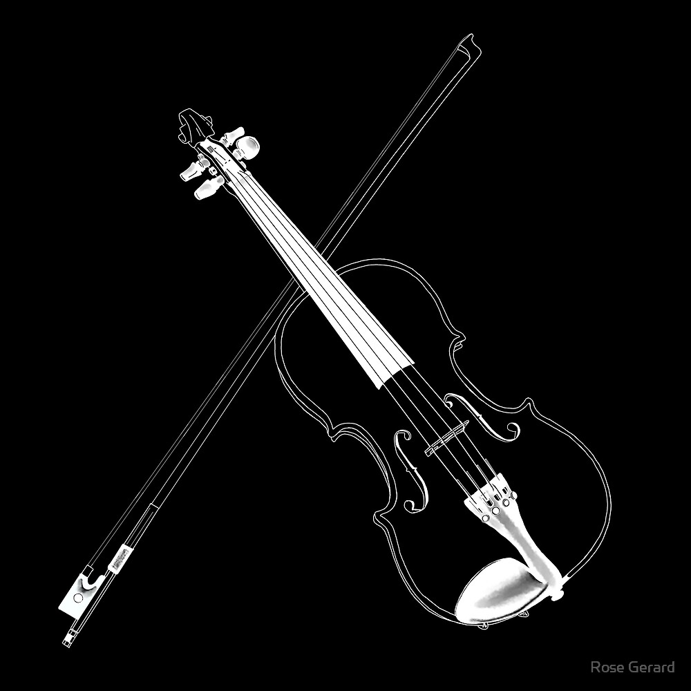 Violin by Rose Gerard