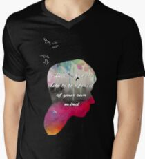 I Know What It's Like To Be Afraid Of Your Own Mind Men's V-Neck T-Shirt