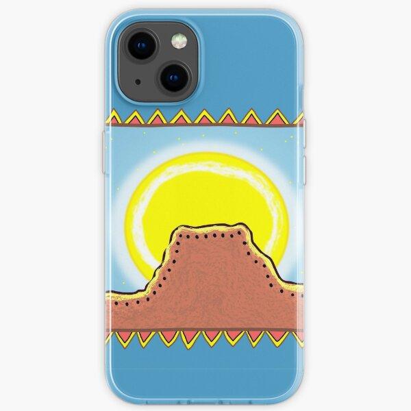 Moonrise Border iPhone Soft Case
