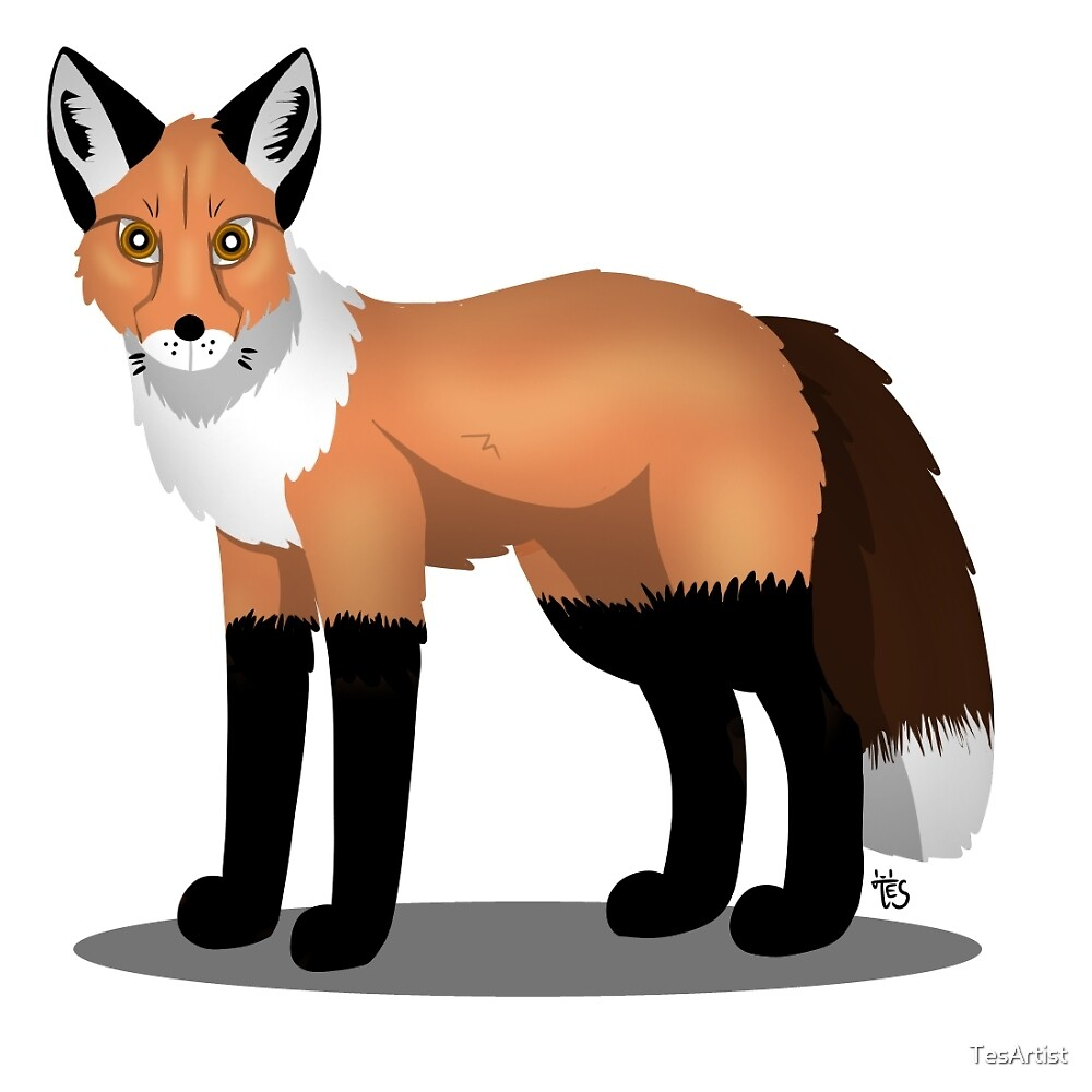 Fox by TesArtist
